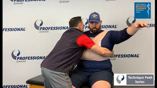 Technique Peek Series - How to secure a shoulder in the absence of a sling