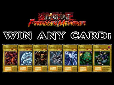 Yu-Gi-Oh! Forbidden Memories - How to Win ANY Card You Want! [RNG Manipulation Tutorial]