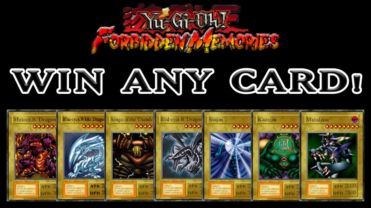 Yu Gi Oh Forbidden Memories How To Win Any Card You Want Rng Manipulation Tutorial
