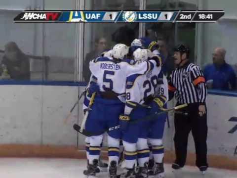 (2-17-17) UAF vs LSSU Goal Highlights