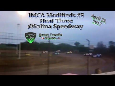 IMCA Modifieds #6, Heat, Salina Speedway, 2017