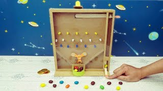 3 Marble Game from Cardboard (Learn Color for Kids) - DIY Cardboard Games