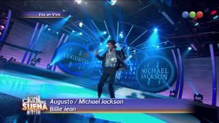 Augusto Schuster es Michael Jackson - Tu cara me suena 2014