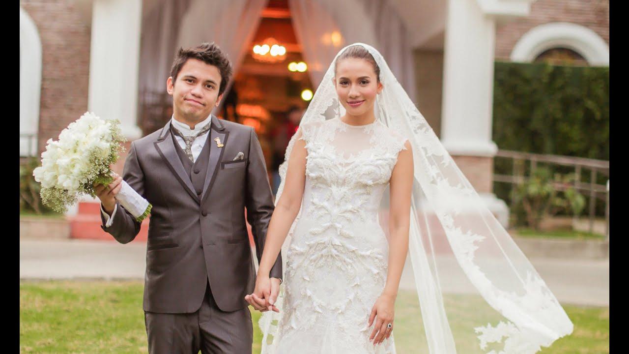 Yael and Karylle Wedding Video by Threelogy (San Antonio de Padua ...