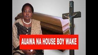 MAJONZI: Alivyoagwa Mama Aliyeuawa na Mfanyakazi wake!