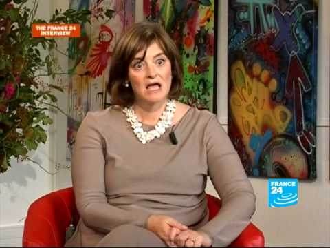 FRANCE 24 The Interview - Interview of Cherie Blair