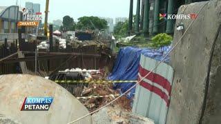 Pagar Menara Saidah Longsor, Proyek LRT Terganggu
