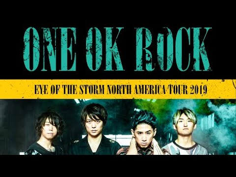 One Ok Rock Performing At The Warfield In San Francisco, CA 03/20/2019 Eye Of The Storm Tour (FULL)