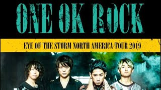 One Ok Rock Performing At The Warfield In San Francisco, Ca 03/20/2019 Eye Of Th