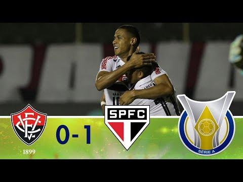 Melhores momentos - Vitória 0 x 1 São Paulo - Campeonato Brasileiro (26/10/2018)