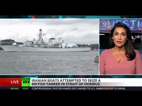 UK arrests Iran ship captain over ship seizure attempt