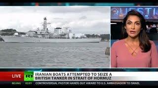 UK arrests Iranian captain over ship seizure attempt