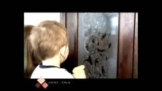 видео Дверь Ока «Валенсия» - ДО (венге, мателюкс графит)