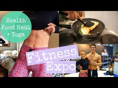 Fitness Expo | Health Food Haul | Yoga