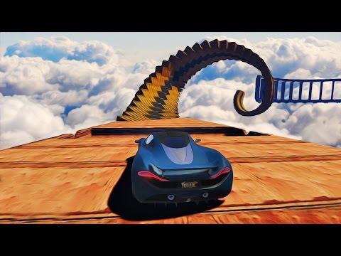 NAJJACI SPIRALNI WALLRIDE ! Grand Theft Auto V - Lude Trke W/Cale