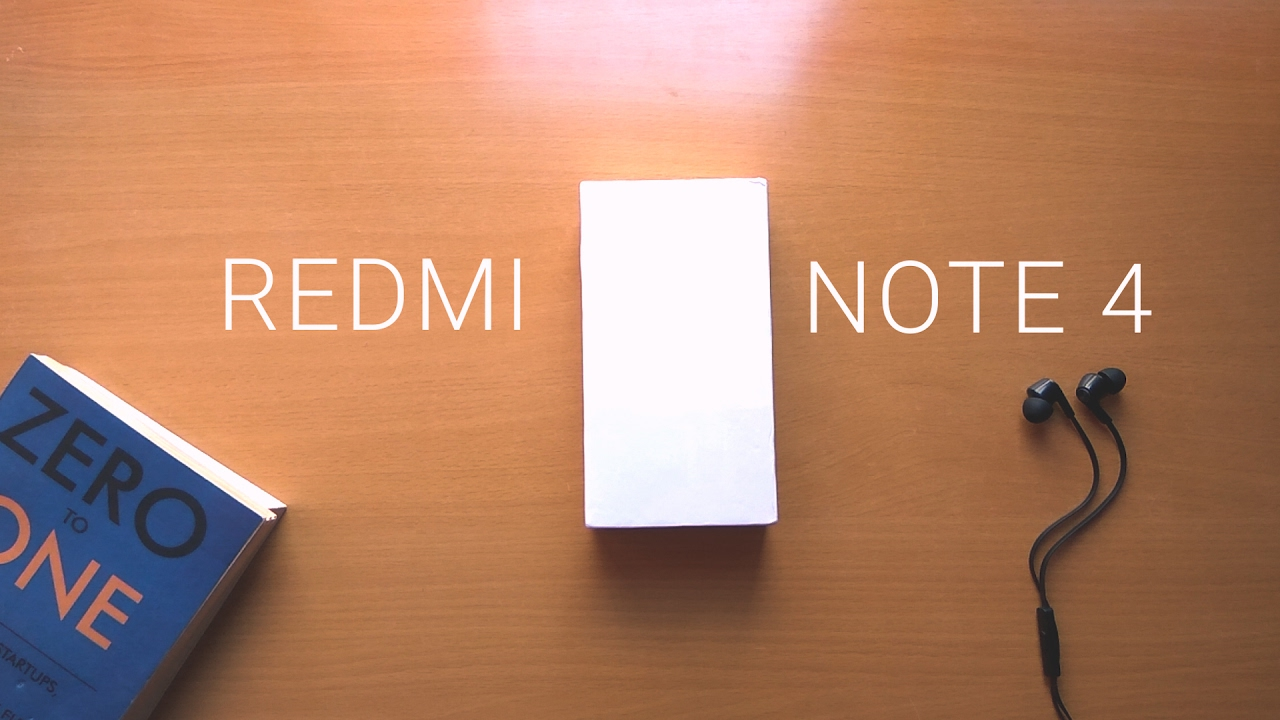 Redmi Note 4 Unboxing: Unboxing & Hands On