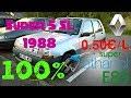Ma Renault SUPER 5 de 1988 roule à l'éthanol sans modification