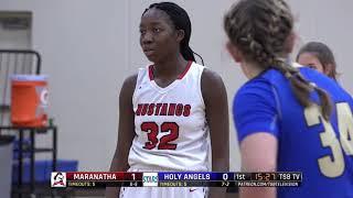 High School Girls Basketball: Maranatha Christian Academy vs. Holy Angels