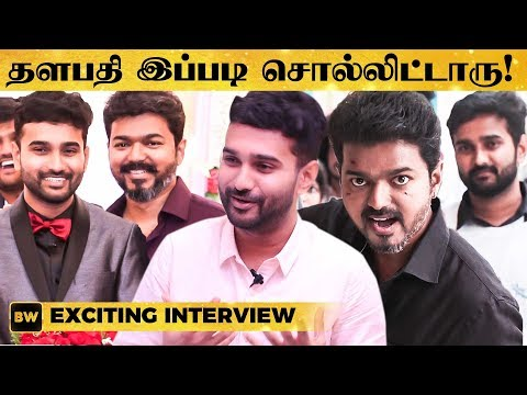 Thalapathy's Super Cool Advice on Marriage Life - PudhuMappillai Jashwanth Reveals
