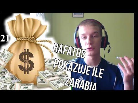 Rafatus pokazuje swoje pieniądze na Live NA ŻYWO