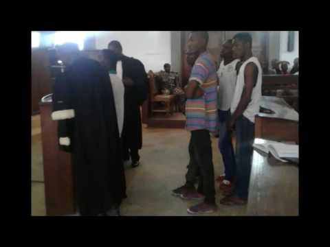 Procès des étudiants: plaidoyer des avocats de la défense pour la libération de Satchivi et autres