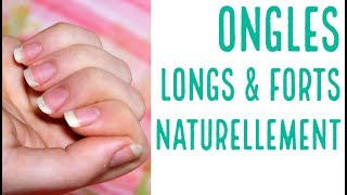 4 recettes SIMPLES et NATURELLES pour de beaux ongles FORTS et LONGS !