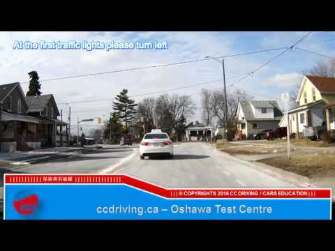 Oshawa test centre trailer