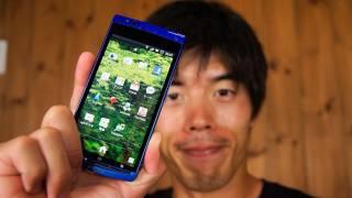 スマートフォン Xperia acro(SO-02C)の簡単レビュー review thumbnail