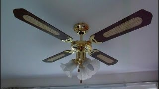 How to fit a ceiling fan. UK .