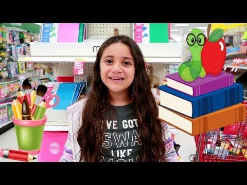COMPRANDO UTILES ESCOLARES / SHOPPING FOR SCHOOL SUPPLIES