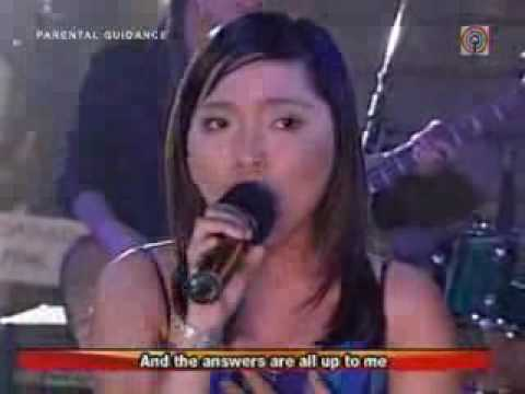 charice pempengco and aegis - One moment in time, All by my self