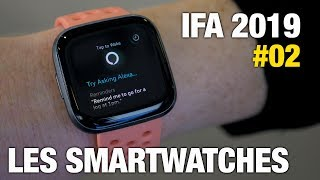 IFA 2019 #2 Withings, Fitbit, Fossil, Garmin, PowerWatch 2, OnTracks