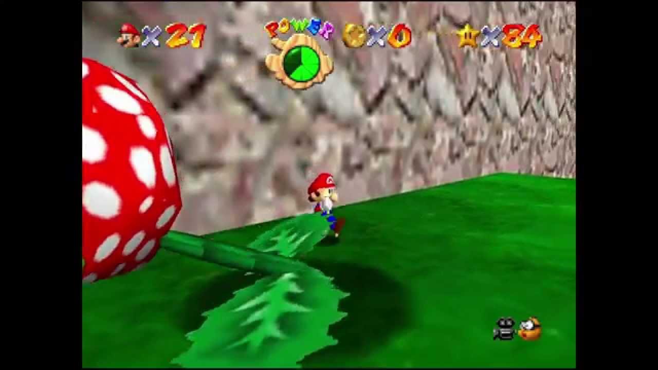 Super Mario 64: KURS 13 - PFLÜCKE DIE SCHNAPP-PIRANHA!