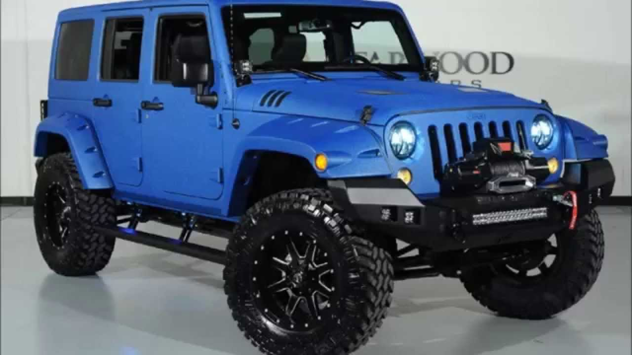 2015 jeep wrangler unlimited sport kevlar coated lifted custom