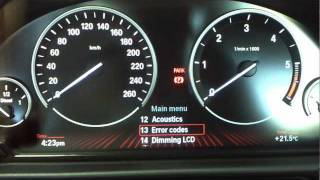BMW 2 Hidden Menus in CIC any model F01 and later How to DIY: BMTroubleU