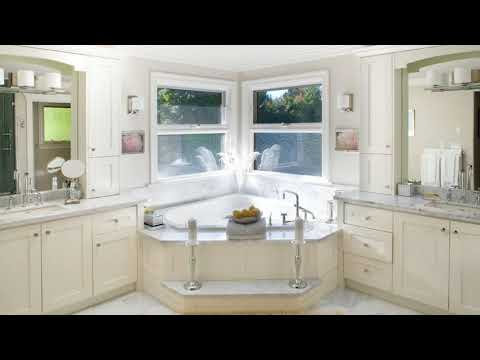 Master Bathroom Ideas With Corner Tub