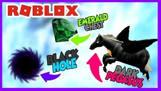 ROBLOX INDONESiA | PET BARU DARK PEGASUS x EMERALD CHEST ?? 😍