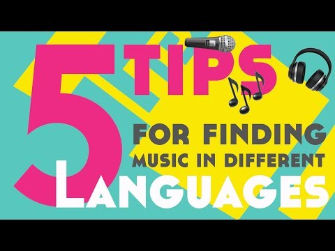 5 Tips For Finding Music For Language Learning║Lindsay Does Languages