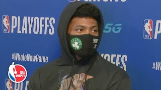 Marcus Smart talks Celtics' Game 2 win vs. Raptors | 2020 NBA Playoffs