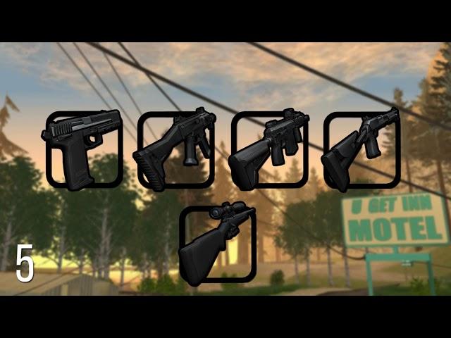 × Top 10 Gun Pack for Ghetto × GTA SAMP / CRMP / MTA × [1080p60] × ??? 10 ???????? ??? ???? ×
