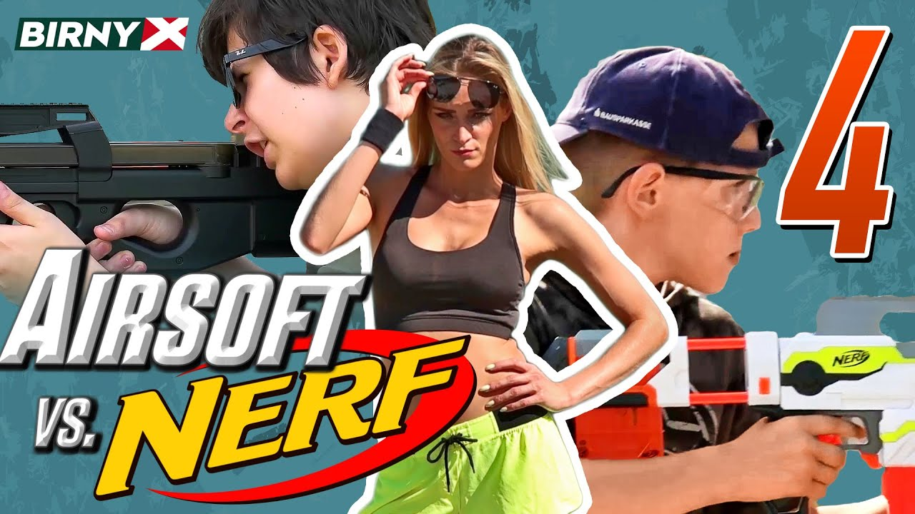 Airsoft vs nerf