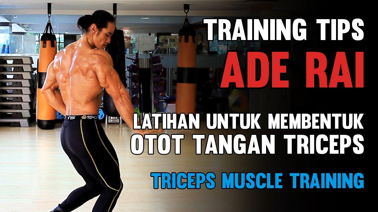 tips ade rai latihan untuk membentuk otot tangan triceps triceps
