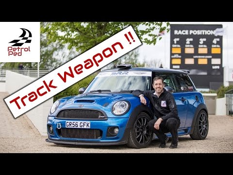 Driving a Road Legal R56 Mini Challenge with 280bhp...SIMPLY AWESOME !