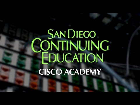 San Diego Continuing Education - Cisco Academy