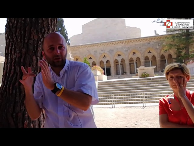 Izrael - Jerozolima (kościół - Ojcze nasz)