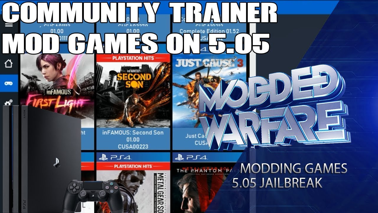 PS4 Source Community Trainer by DeathRGH | PSXHAX - PSXHACKS