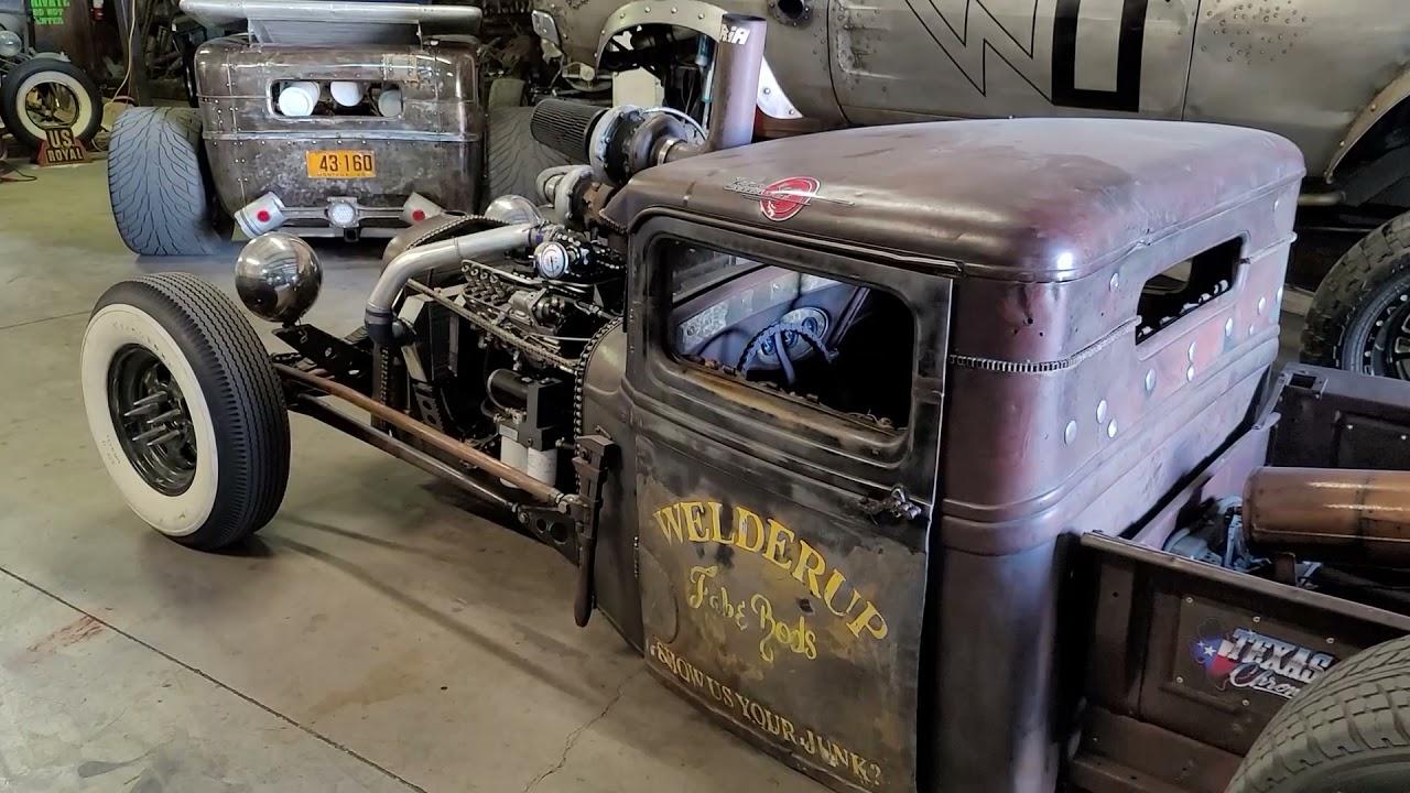 1932 Ford 4BT Cummins Rat Rod