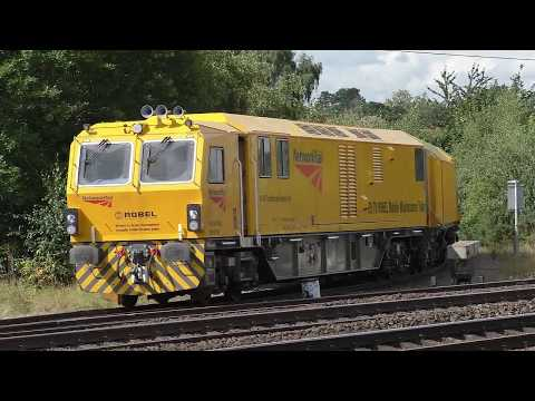 11 classes of train at Retford including an Azuma, and class 321 EMU.
