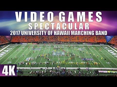 "VIDEO GAMES SPECTACULAR | 2017 University of Hawaii ""Rainbow Warrior"" MB | Homecoming | 4K"