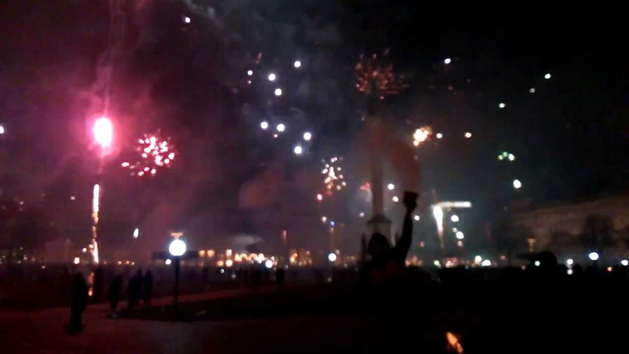 New year fireworks 2014, Stuttgart, Germany - YouTube